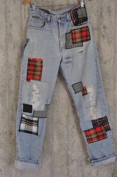 Distressed Vintage Boyfriend Jeans/Hipster Jeans/All Sizes/Grunge Jeans/boho/vin. - Distressed Vintage Boyfriend Jeans/Hipster Jeans/All Sizes/Grunge Jeans/boho/vintage jeans/womens j - Vintage Jeans, Jean Boyfriend Vintage, Boho Vintage, Grunge Jeans, Hipster Jeans, Grunge Hipster Fashion, Boyfriend Jeans Grunge, Vintage Hipster Outfits, Grunge Clothes
