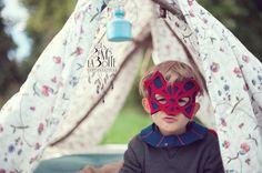 portrait de l'Homme Araignée / http://www.desplumesdanslaboite.com/4-ans-de-mon-super-hero/