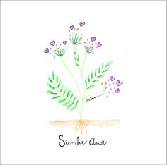 flower illustration love watercolor quotes frases