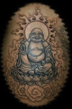 Buddha by Anil Gupta, New York City, USA | buddhist tattoos