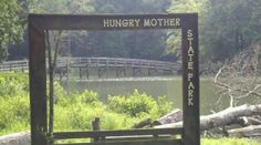 Hungry Mother State Park in southwestern Virginia is noted for its woodlands and lake.