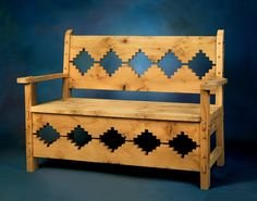Reproduction 19th Century Mexican Bench