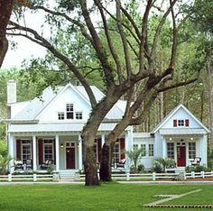 Country Cottage Building Plans . . . Built For Fun And Relaxation! - love this & the attached guest house!!!