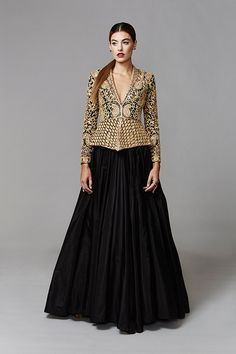 Filled with the finest fabrics, impossibly fine hand-embroidery, delicate embellishments and flawless finishing, the Jani & Khosla 2016 collection is a must see!  This creative duo are known as the Masters of Revival and Reinvention, taking ancient techniques and craftsmanship and elevating it to never before seen standards. Viewed as artists who straddle the dual worlds of Fashion and Architecture with consummate ease, their unique sense of aesthetics is firmly rooted and does not bow to…