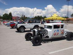 Poor Boys Car Club show, Center, CO  2014