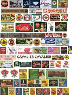 Signs & Billboards - Zealot Hobby Forum lots and lots of free miniature signs old time