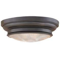 The Cherryvale Flush Mount Ceiling Light | Contemporary Drum.  Other finishes available.