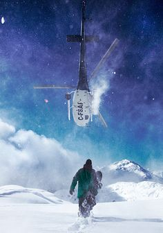 All I want for Christmas.... is a helicopter and some powder.