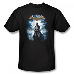 Batman Arkham City Game Over Black Adult T-Shirt from Warner Bros.: This 100% cotton t-shirt is available in… #Movies #Films #DVD Video