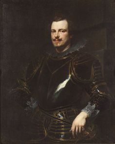 """""""Portrait of an Italian Nobleman"""" Anthony van Dyck  Flemish Painting. No..... it's Colin Firth!!!!!"""