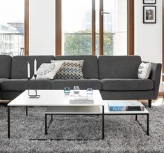 Use use use them separately, or use them together. How could the Lugo coffee tables fit your living room? Living Room, Furniture, Room, Outdoor Sectional Sofa, Sofa, Boconcept, Living Room Scandinavian, Home Decor, Coffee Table