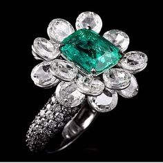 #floatingpetals #luxury #rosecut #columbianemerald  Just like a rolling stone !!