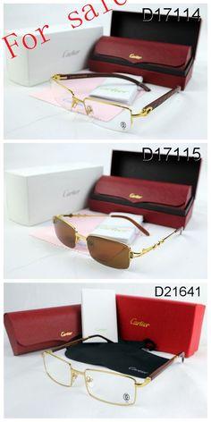 6ddee37cd7a Cartier Gold Half Rim Sunglasses With Wood Frame « Heritage Malta