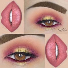 @littledustmua a spring slay is always in order she used the 35C + 35U palettes to bring this eye look to life #morphegirl