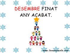 DESEMBRE Valencia, Arts And Crafts, Inspirational Quotes, Songs, Christmas, School, Scrappy Quilts, Quotes For New Year, Sayings