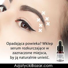 Jak naturalnie podnieść opadającą powiekę? Anti Aging Treatments, Beauty, Wax, Beauty Illustration