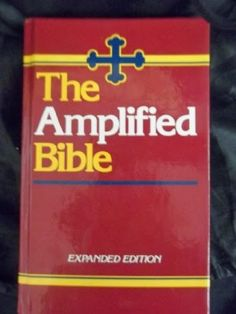 """My Treasure Box"" : BIBLE TRANSLATIONS: AMP"