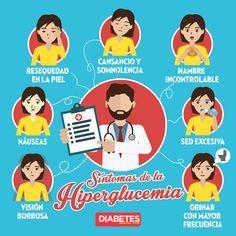 Síntomas de hiperglucemia #diabetes