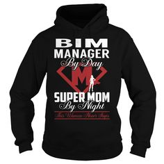Bim Manager Super Mom Job Title TShirt