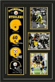 Pittsburgh Steelers Banner With Logos - Terry Bradshaw Spotlight Collection  photo a4c87bf2a