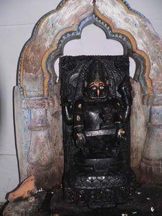 Nuapatna - Laxmi Nrusingha Temple - Presiding Deity Laxmi-Narasimha