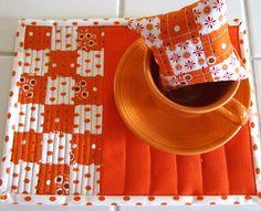 Simply Miss Luella: Cuppas, pinnies and mug mats. Soooo cute!