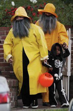 Melissa McCarthy and Sandra Bullock for halloween.