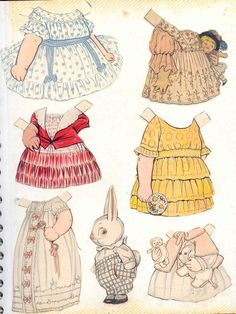 Dolly Dingle outfits 15 * 1500 paper dolls at International Paper Doll Society… Paper Doll Craft, Doll Crafts, Paper Crafts, Paper Dolls Clothing, Doll Clothes, Paper Dolls Printable, Kewpie, Vintage Paper Dolls, Hello Dolly