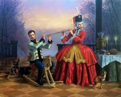 Double Harmony II 2016 by Michael Cheval