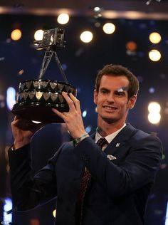 It has been a busy week for Andy who picked up his second Sports Personality of the Year award on Sunday