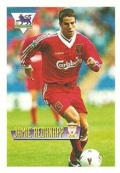 1996-97 Merlin's Premier League #30 Jamie Redknapp Front