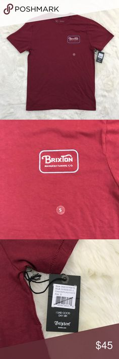 Brixton Men's Short Sleeve top Sz Small NWT Men's Brixton size small top. NWT line through tag for no in store returns Brixton Shirts Tees - Short Sleeve