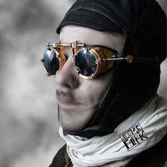 Steampunk Brass goggles
