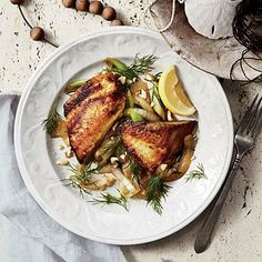Vietnamese Tilapia with Turmeric and Dill | CookingLight.com #myplate #protein