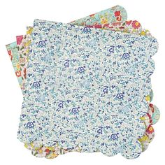 Shop Liberty Assorted Large Napkins (Set of 20). These Meri Meri Liberty party napkins are blooming with fresh floral prints that are perfect for any celebration. This set of 20 napkins features 4 different prints.
