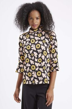 Photo 3 of Scandi Floral Print Top