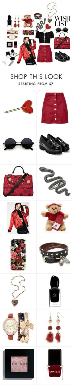 """""""11"""" by qivein on Polyvore featuring мода, Boohoo, Nasty Gal, Dolce&Gabbana, O-Mighty, iDeal of Sweden, Alexander McQueen, Giorgio Armani, Jessica Carlyle и New Directions"""