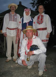 Traditional costume of Belarus