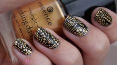 DIY Nail Art | Versace Inspired Dots ~
