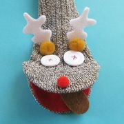 Simple Sock Puppets: Reindeer | eHow