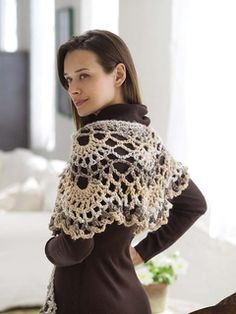 Lacy Wrap pattern by Coats Design Team