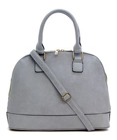 Gray Kristy Satchel.  Large Gray Suede Tote //wishiz.me