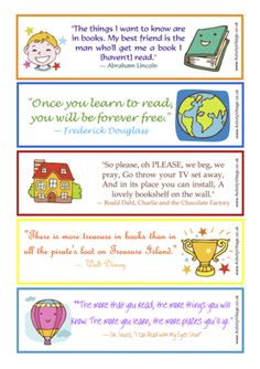 Free Stuff: Printable bookmarks ~ quotes about reading - Listia.com Auctions for Free Stuff