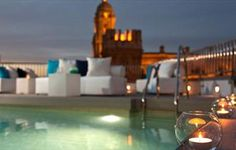 Hotel Molina Larios, a charming hotel with a rooftop pool and incredible views in the center of the city. (Málaga, Spain)