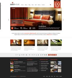 Buy Guesthouse - Hotel & Sport Center WordPress Theme by ait on ThemeForest. Have a look also at our brand new WordPress theme with fully working reservation system called Anchor: Guesthouse Ver. Guesthouse Hotel, Theme Hotel, Golf Room, Restaurant Themes, News Web Design, Professional Web Design, Hotel Website, Portfolio Layout, Double Room