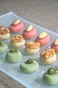 Homemade marzipan