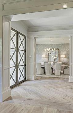 Herringbone Wood Floor, Ceramic Wood Tile Floor, Wood Look Tile Floor, Faux Wood Tiles, Wood Floor Design, Wood Floor Pattern, Hardwood Floor Colors, Floor Patterns, Herringbone Pattern