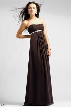 Style #4020: Bella chiffon bridesmaids dress with twisted pleating. Available sizes: 2-28; Variety of Colors Available