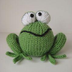 Froggy knitting pattern by Amanda Berry