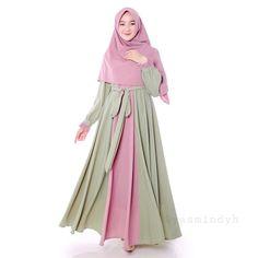 Islamic Fashion, Muslim Fashion, Hijab Fashion, Hijab Style Dress, The Chic, Different Styles, Lady, Womens Fashion, How To Wear